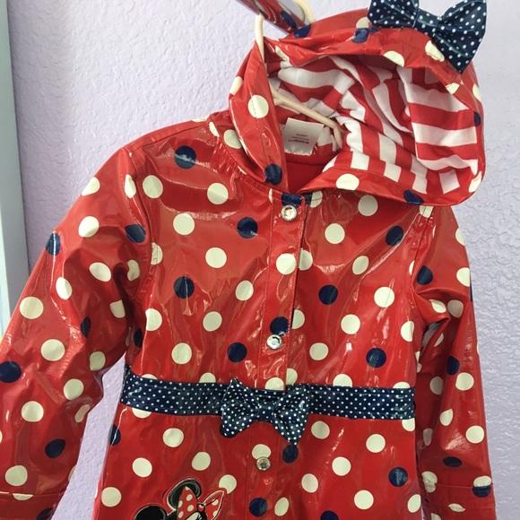64a40471bc7 Disney Jackets & Coats | Minnie Mouse Rain Jacket | Poshmark